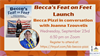 Becca's Feat on Feet Virtual Book Launch