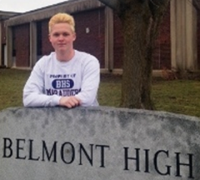 Belmont Boosters February Athlete Kevin Dacey, BHS Boys Ice Hockey