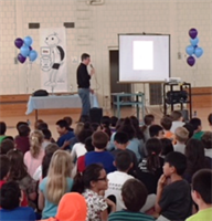 Author Jeff Kinney Visits Butler Grades 3 & 4