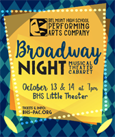 BHS Broadway Night