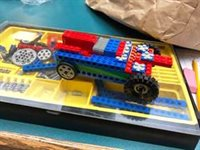 Butler visit to LEGO Car Rally workshop at Edgerton Center at MIT
