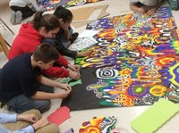 Chenery Students making kindness mural.jpg