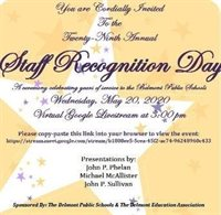 Staff Recognition Day Invitation