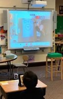 Author Sam Wedelich visit to Butler kindergartners and grade 1